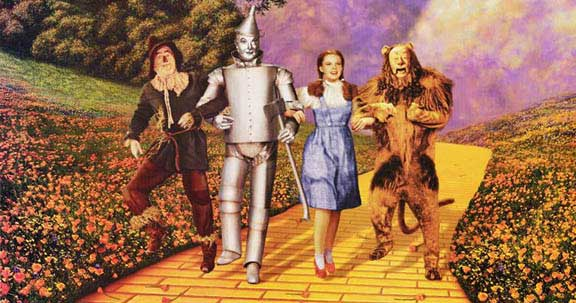 Wizard of Oz - Down the Yellow Brick Road
